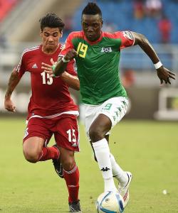 Burkina Faso maillot exterieur CAN 2015