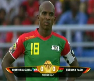 Burkina Faso maillot exterieur vs Guinee Equatoriale CAN 2015
