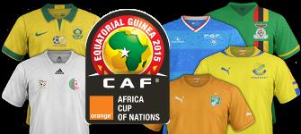 maillots de foot CAN 2015
