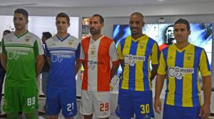 CR7 Museu sponsor maillot foot Union de Madeire
