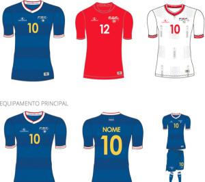 Cap-Vert 2015 les 3 maillots de football CAN 2015
