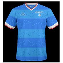 Cap-Vert 2015 maillot domicile football