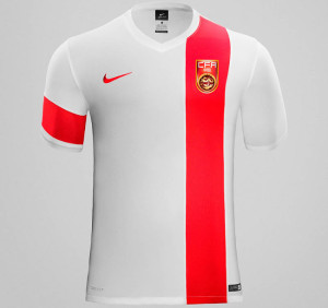 Chine 2015 maillot exterieur foot