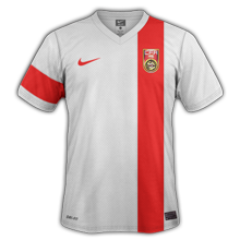 Chine 2015 maillot exterieur football