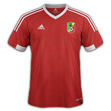 Congo 2015 maillot foot domicile CAN 2015