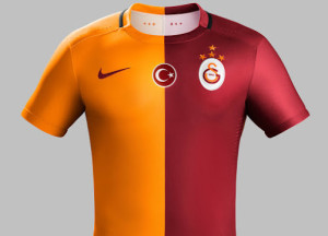 Galatasaray 2016 maillot domicile 15-16 officiel
