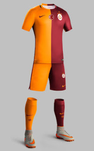 Galatasaray 2016 maillot domicile 2015 2016 short chaussettes