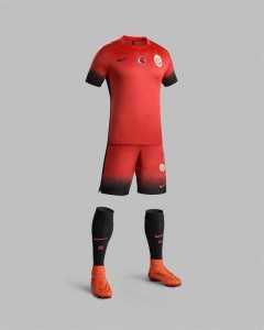 Galatasaray 2016 maillot third foot 15-16