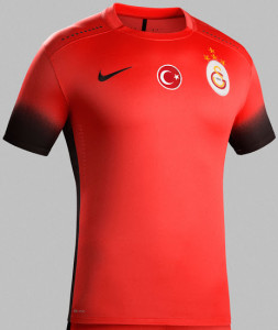 Galatasaray 2016 maillot third foot 2015-2016