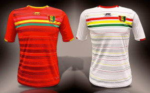 Guinee 2015 maillots de football CAN 2015