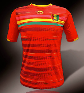 Guinee maillot domicile CAN 2015