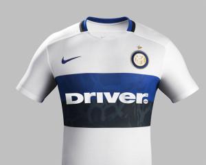 Inter Milan 2016 Nike maillot exterieur 15-16