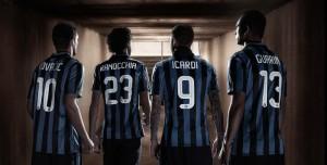 Inter Milan 2016 flocage maillot de foot 15-16