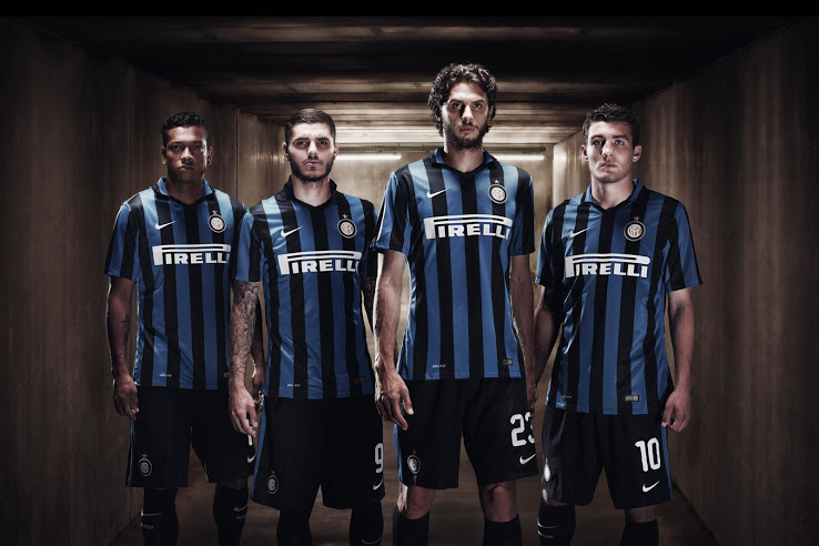 nouveaux maillots de football inter milan 2016 maillots foot actu. Black Bedroom Furniture Sets. Home Design Ideas