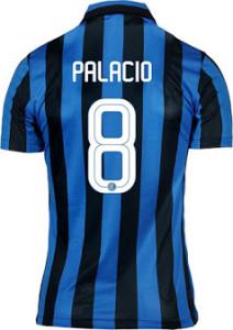 Inter Milan 2016 maillot domicile dos flocage PALACIO