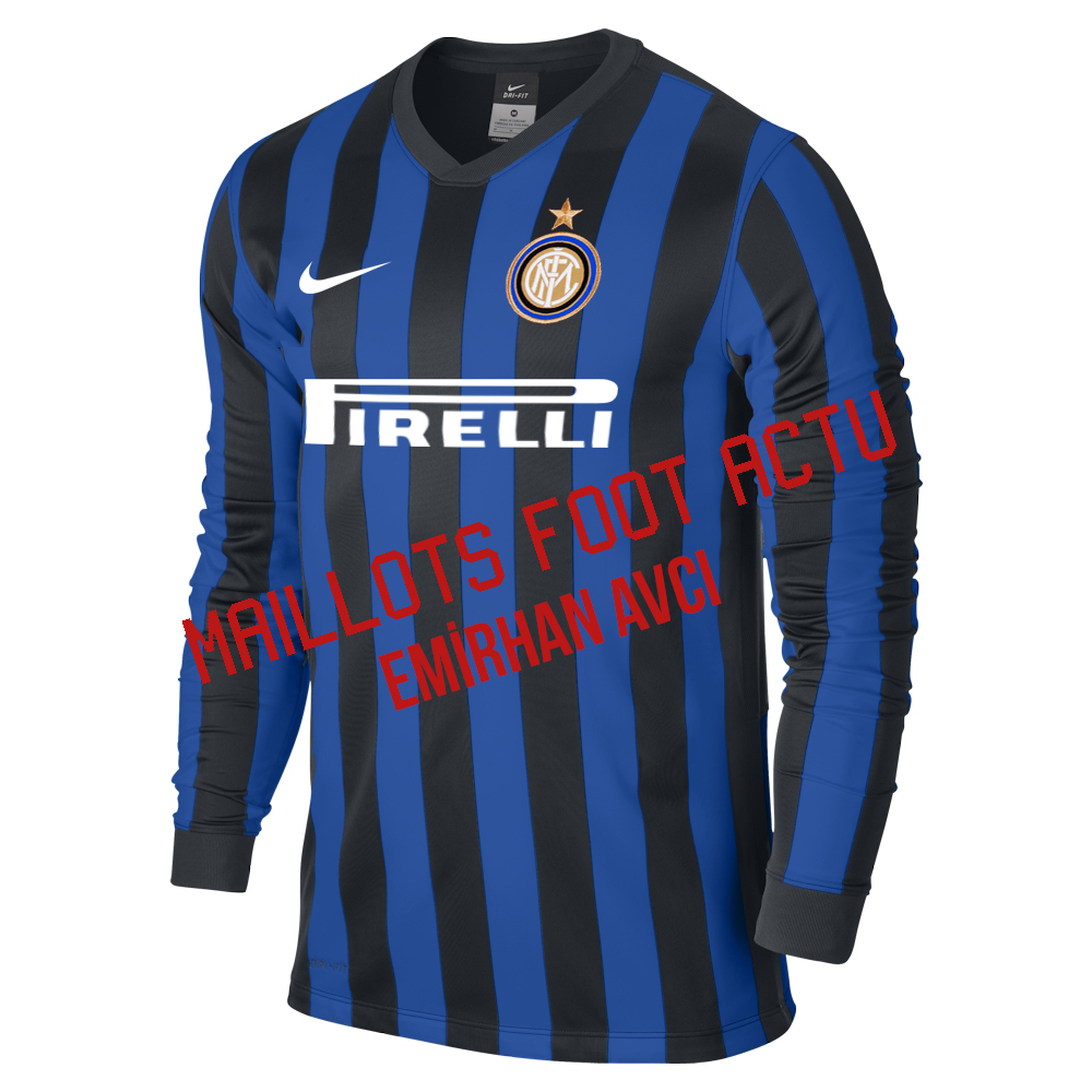 nouveaux maillots de football inter milan 2016. Black Bedroom Furniture Sets. Home Design Ideas