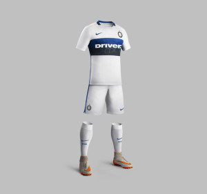 Inter Milan 2016 maillot short chaussettes exterieur 15-16 Nike