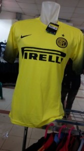 Inter Milan 2016 troisieme maillot third 15-16 foot