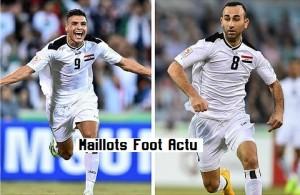 Irak 2015 maillot foot domicile Jako