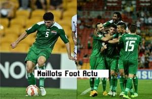Irak 2015 maillot foot extérieur Jako