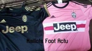 Juventus 2016 maillot exterieur third 15-16