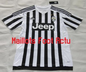 Juventus 2016 maillot foot domicile 15-16