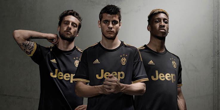 Juventus 2016 les nouveaux maillots de foot
