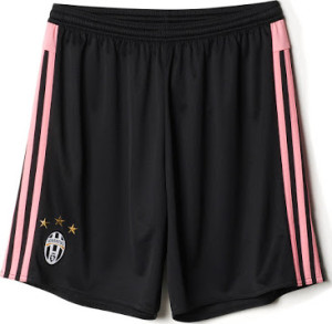 Juventus 2016 short de foot 15-16