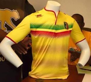 Mali 2015 maillot foot domicile CAN 2015