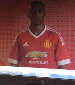 Manchester United 2016 leaked home kit