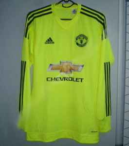 Manchester United 2016 maillot de gardien