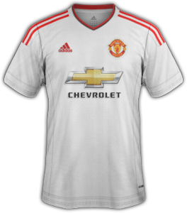 Manchester United 2016 maillot exterieur 15-16 away