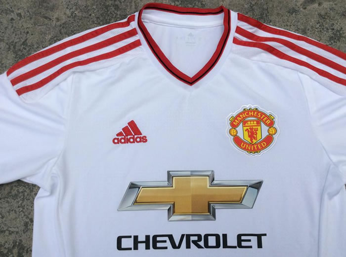 Manchester united 2016 maillot exterieur 15 16 away for Manchester united exterieur