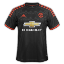 Manchester United 2016 maillot foot third 2015-2016
