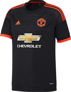 Manchester United 2016 maillot third 15-16