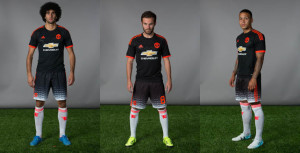 Manchester United 2016 maillot third officiel 15-16