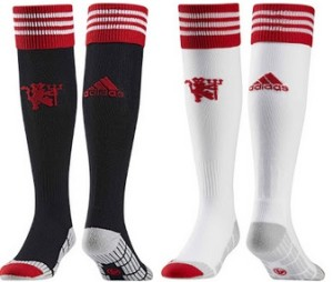 Manchester united 2016 chaussettes domicile football 15-16