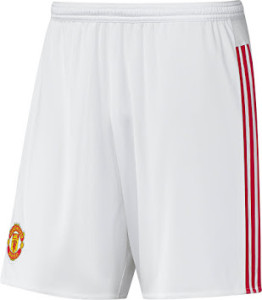 Manchester united 2016 short domicile football 15-16