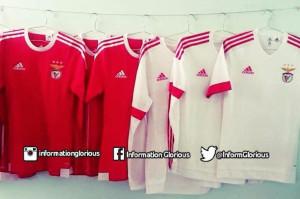 Benfica 2016 les maillots de foot 2015 2016