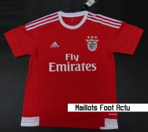 Benfica 2016 maillot domicile 15-16