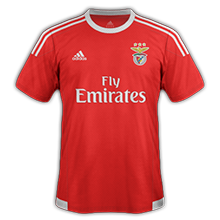 Benfica 2016 maillot domicile 15-16 football