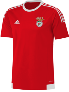 Benfica 2016 maillot domicile football 2015 2016