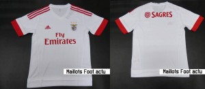 Benfica 2016 maillot foot exterieur 15-16 Fly Emirates