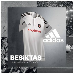Besiktas 2016 maillot de football domicile