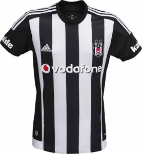 Besiktas 2016 maillot de football exterieur 2015 2016