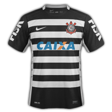 Corinthians 2015 2016 maillot exterieur football