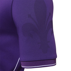 Fiorentina 2016 détails manche maillot domicile