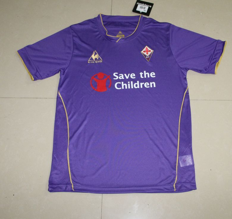 Maillot Domicile Fiorentina noir