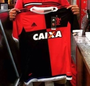 Flamengo 2015 2016 troisieme maillot third football