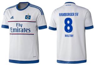 Hambourg 2016 maillot domicile 2015 2016